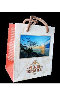 Пакет-сумка подарочный с видом Крыма 180х150
